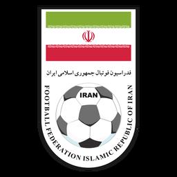Logotipo del equipo de fútbol de Irán