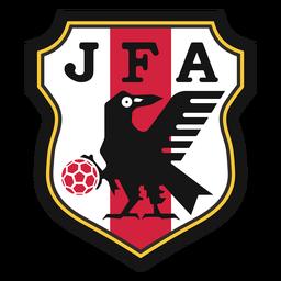 Logotipo da equipe de futebol do Japão