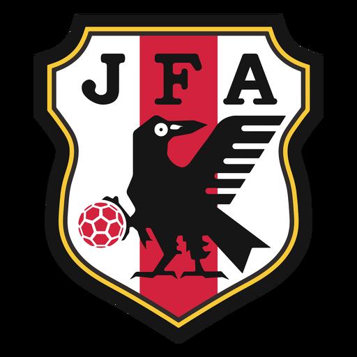 Logotipo da equipe de futebol do Japão Transparent PNG