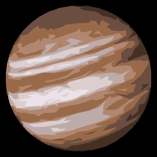 Icono de planeta jupiter Transparent PNG