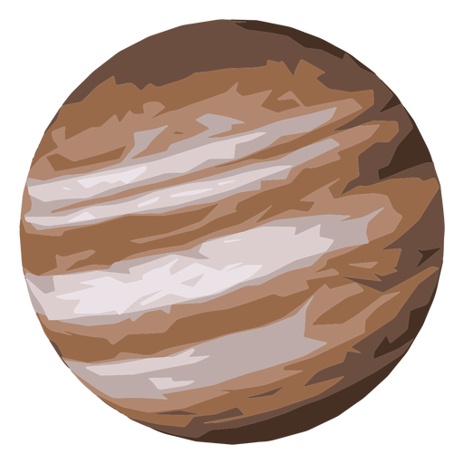 Jupiter planet icon Transparent PNG