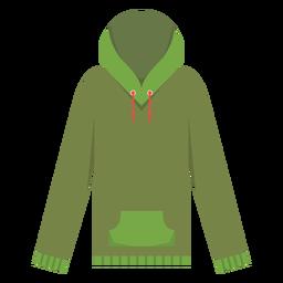 Langarm-Hoodie-Symbol