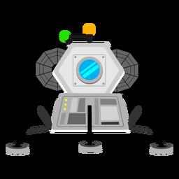 Icono de módulo lunar