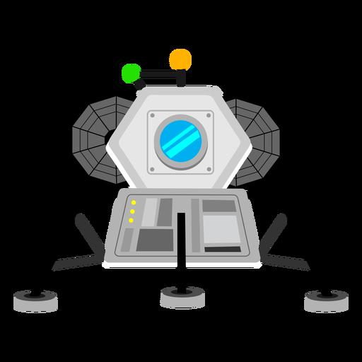 Icono de módulo lunar Transparent PNG