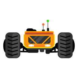Lunar rover vehicle icon