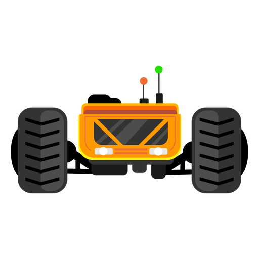 Lunar rover vehicle icon Transparent PNG