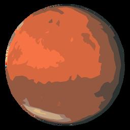 Icono de planeta marte