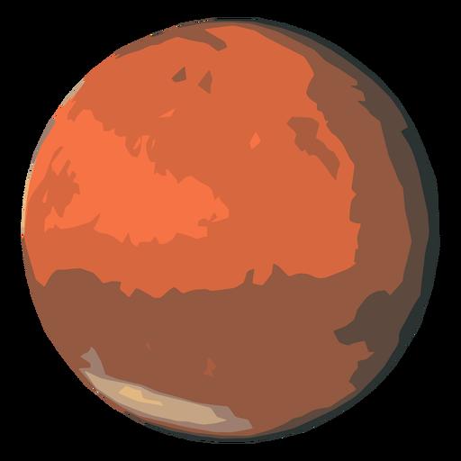 Icono de planeta marte Transparent PNG