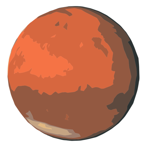 Mars planet icon