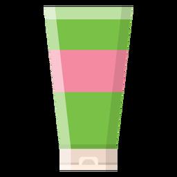 Icono de tubo de crema de masaje