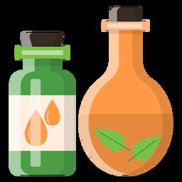 Icono de aceites de masaje