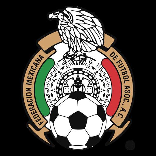 Logotipo da equipe de futebol do México Transparent PNG