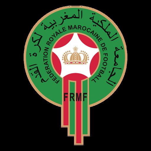 Moroco football team logo Transparent PNG