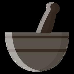 Ícone de almofariz e pilão
