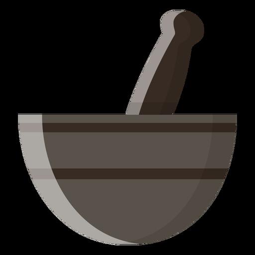 Icono de mortero y maja Transparent PNG