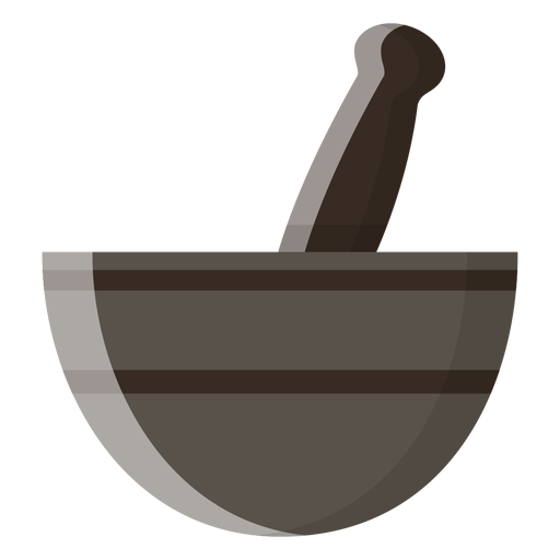Mortar and pestle icon Transparent PNG