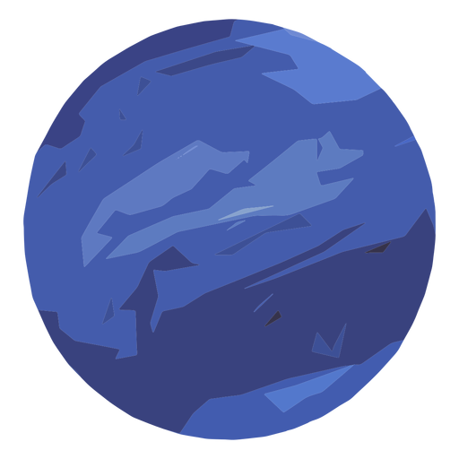 Neptune planet icon Transparent PNG