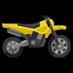 Ícone de motocicleta de estrada