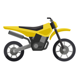 Off road motorcycle icon