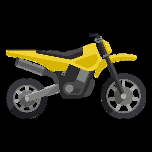 Ícone de motocicleta de estrada Transparent PNG
