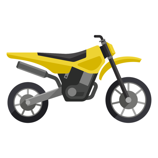 Off road motorcycle icon Transparent PNG