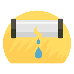 Pipe burst icon