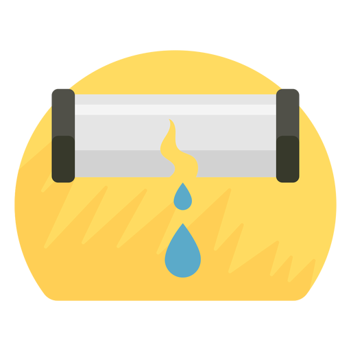Pipe burst icon Transparent PNG