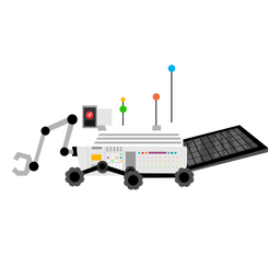 Planetary rover icon