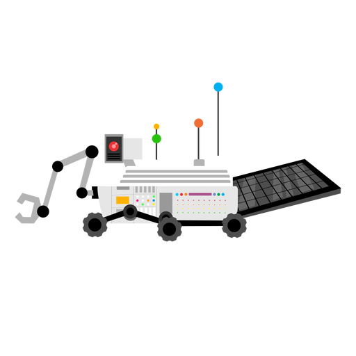 Planetary rover icon Transparent PNG