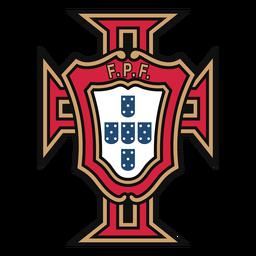 Logo der portugiesischen Fußballmannschaft