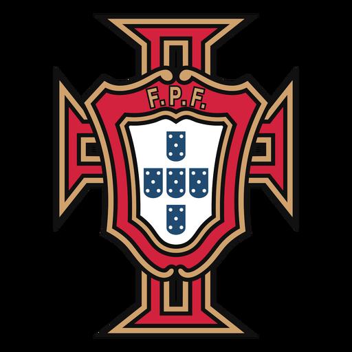Logo del equipo de futbol de portugal Transparent PNG