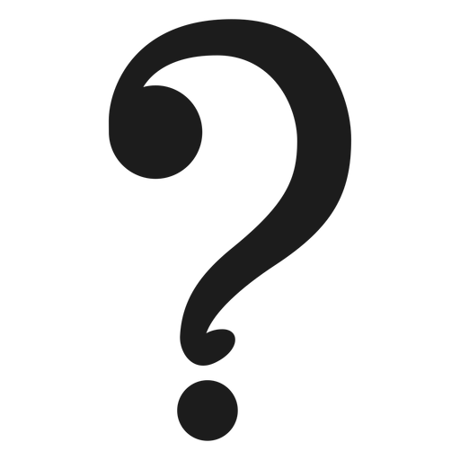 Question Mark Symbol Vector Transparent PNG
