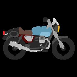 Retro Motorrad-Symbol
