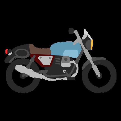 Ícone retro da motocicleta Transparent PNG