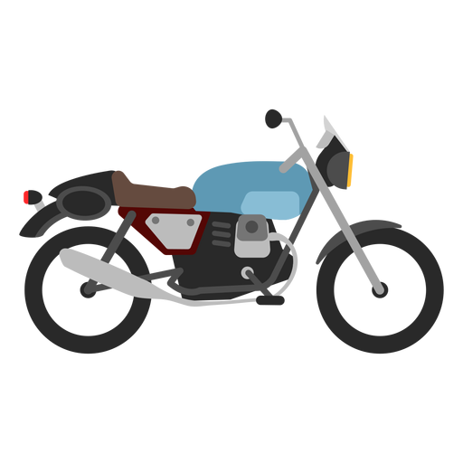 Retro motorcycle icon Transparent PNG