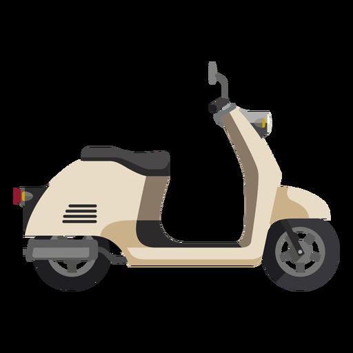 Ícone de moto scooter retrô Transparent PNG