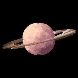 Icono de planeta saturno