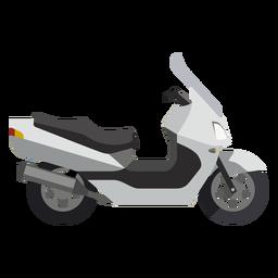 Roller-Motorrad-Symbol