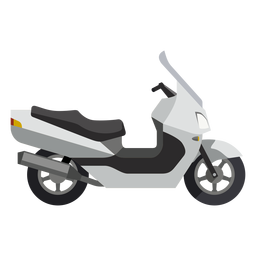 Scooter motorcycle icon