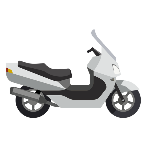Scooter motorcycle icon Transparent PNG