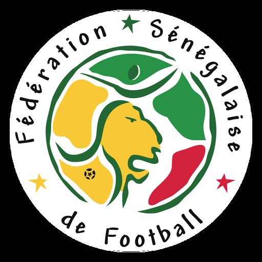 Logotipo da equipe de futebol do Senegal Transparent PNG