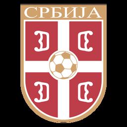 Logotipo del equipo de fútbol de Serbia