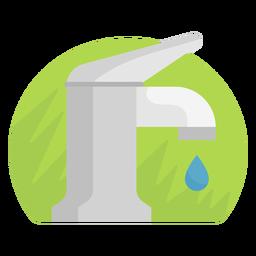 Icono de la pila del fregadero