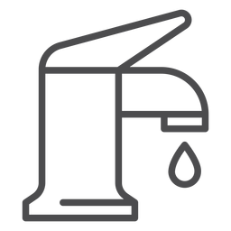Batterie-Hubsymbol sinken
