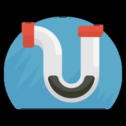 Icono de tubo de fregadero