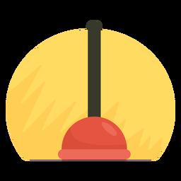 Icono de émbolo del fregadero