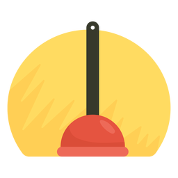 Sink plunger icon