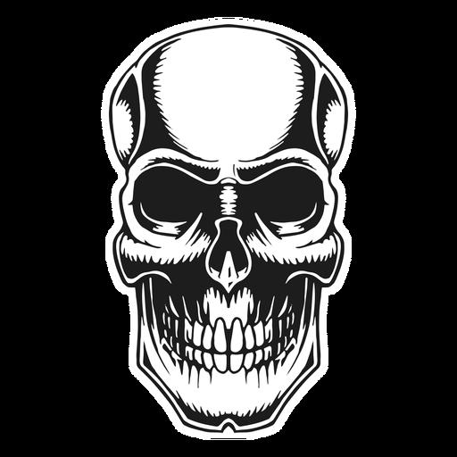 Skull vintage tattoo Transparent PNG