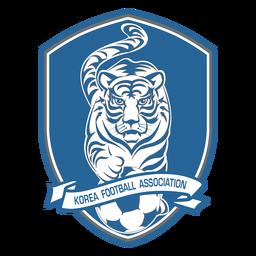 Logo del equipo de fútbol de corea del sur