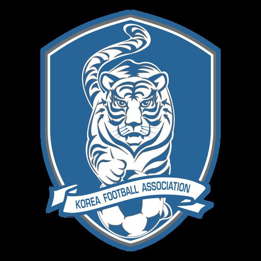 Logotipo da equipe de futebol do Sul corea Transparent PNG